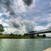 Autostadtbrücke, Вольфсбург
