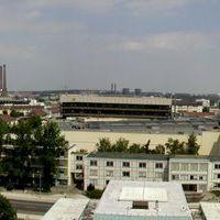 Blick vom Rathaus 180° Panorama, Вольфсбург