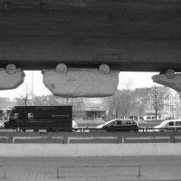 Verkehr verkehrt herum / Traffic operates around, Ганновер