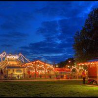 Circus Roncalli auf dem Waterlooplatz nachts, Ганновер