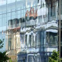 Hannover, Glasfassaden Spiegelung, Ганновер