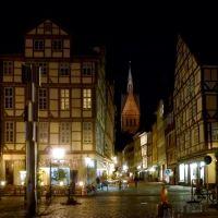 Hannover,  Am Holzmarkt  mit Marktkirche, Ганновер