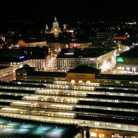 City vom Brederohochhaus, Hannover, Ганновер