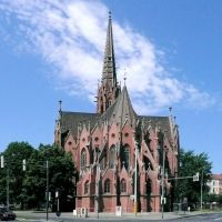 Choransicht der Christuskirche, Hannover, Ганновер