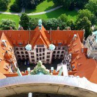 Hannover Rathaus Blick in den Ostflügel, Ганновер