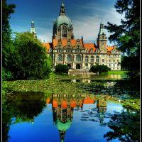 Hannover Neues Rathaus, Ганновер