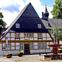 Goslar - Kloster Frankenberg - Torhäuser, Гослар