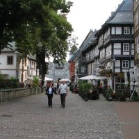 Goslar Germany, a beautiful town was built in the Middle Ages, Гослар