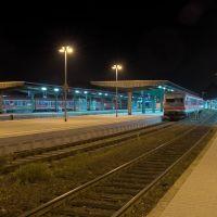 Bahnhof Goslar bei Nacht, Гослар