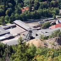 """Museo de la mina """"Rammelsberg"""" desde arriba, Гослар"""