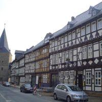 """Breiterthor"" and ""Hotel Goldene Krone"", Breitestrasse, Goslar, Гослар"