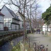 The idyllic canal in Goslar, Гослар