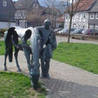 Modern art by Ursula Focke in Goslar, Гослар