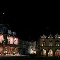 Goslarer Marktplatz bei Nacht, Гослар