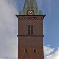 """DELMENHORST: EVANGELISCHE STADTKIRCHE (= """"Protestant City Church"""") • 2009, Дельменхорст"""