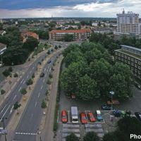 DELMENHORST: Aussicht vom Wasserturm / View from water tower • 1999, Дельменхорст