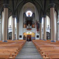 Delmenhorst: Innenansicht der Katholische Kirche, Дельменхорст