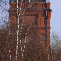 """DELMENHORST: """"NORDWOLLE""""-Wasserturm / """"NORDWOLLE"""" (North wool) water tower • 01-2012, Дельменхорст"""