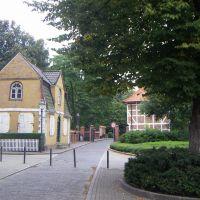 Cuxhaven Schloss Ritzebüttel / Einfahrt, Куксхавен