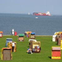Strandleben an der Elbmündung, Куксхавен