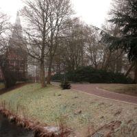 Cuxhaven - Parque no inverno (jan. 2011), Куксхавен