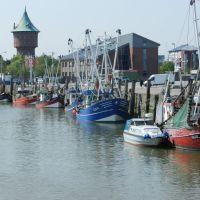 Cuxhaven  (vom Boot aus gesehen), Куксхавен