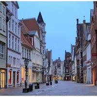 Lüneburg  -- Große Bäckerstraße, Лунебург