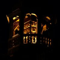 Rathausglocken bei Nacht, Лунебург