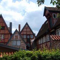 Altstadt - Hinterhöfe im besten Zustand - Lüneburg, Лунебург