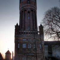 water tower - Wasserturm Lüneburg, Лунебург