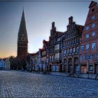 Lüneburg, Am Sande und St. Johanniskirche, Лунебург