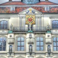 Lüneburgs Rathaus - das schönste im Norden - am Martinstag - 11.11.11.  11:11 - Karnevalsanfang und weit und breit keine Narren!, Лунебург