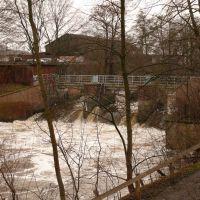 Ilmenauwehr - Hochwasser 23.1.2008 -, Лунебург