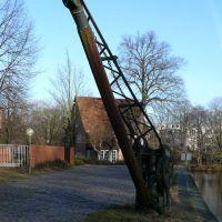 Lüneburg - Alter Lastkran an der Ilmenau -, Лунебург