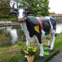 De bonte Koe van Nordhorn, Duitsland, Нордхорн