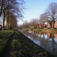 Ems-Vechte Kanal in Nordhorn, Нордхорн