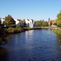 Blick auf die Innenstadt, Нордхорн