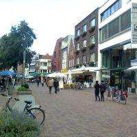 Hauptstrasse, Nordhorn, view on Ekelhof Küchenhaus, Нордхорн