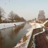 Nordhorn - Winter am Ems-Vechte-Kanal, Нордхорн