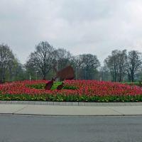 Kreisverkehr beim Tierpark Nordhorn, Нордхорн