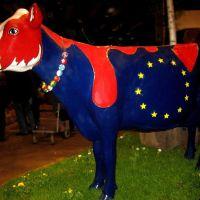 """""""Die Europa-Kuh"""" Blumenschau Oldenburg 2009, Олденбург"""