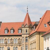 Osnabrück, schöne Architektur, Оснабрюк
