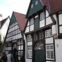 Alte Fachwerkhäuser in Osnabrück, Оснабрюк