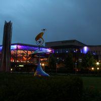 Stadthalle bei Nacht Juni 2007, Оснабрюк