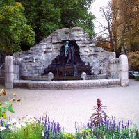 Der Bergmannsbrunnen in Osnabrück, Оснабрюк