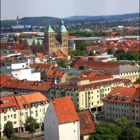 Osnabrück: St Johannkirche gesehen ab der Turm der St. Katharinenkirche, Оснабрюк