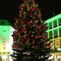 Weihnachtsbaum am Nikolaiort, Оснабрюк
