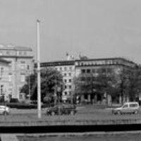 Braunschweiger Altstadt als Panorama vom alten Bahnhof, Брауншвейг
