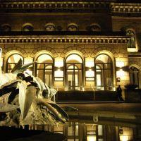 Staatstheater Braunschweig bei Nacht, Брауншвейг