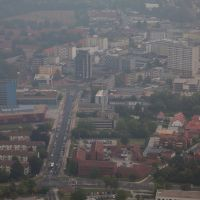 Luftaufnahme | Salzgitter City | Innenstadt | Joachim-Campe-Straße, Salzgitter